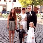 Familie Hochzeit Glückliche Paare