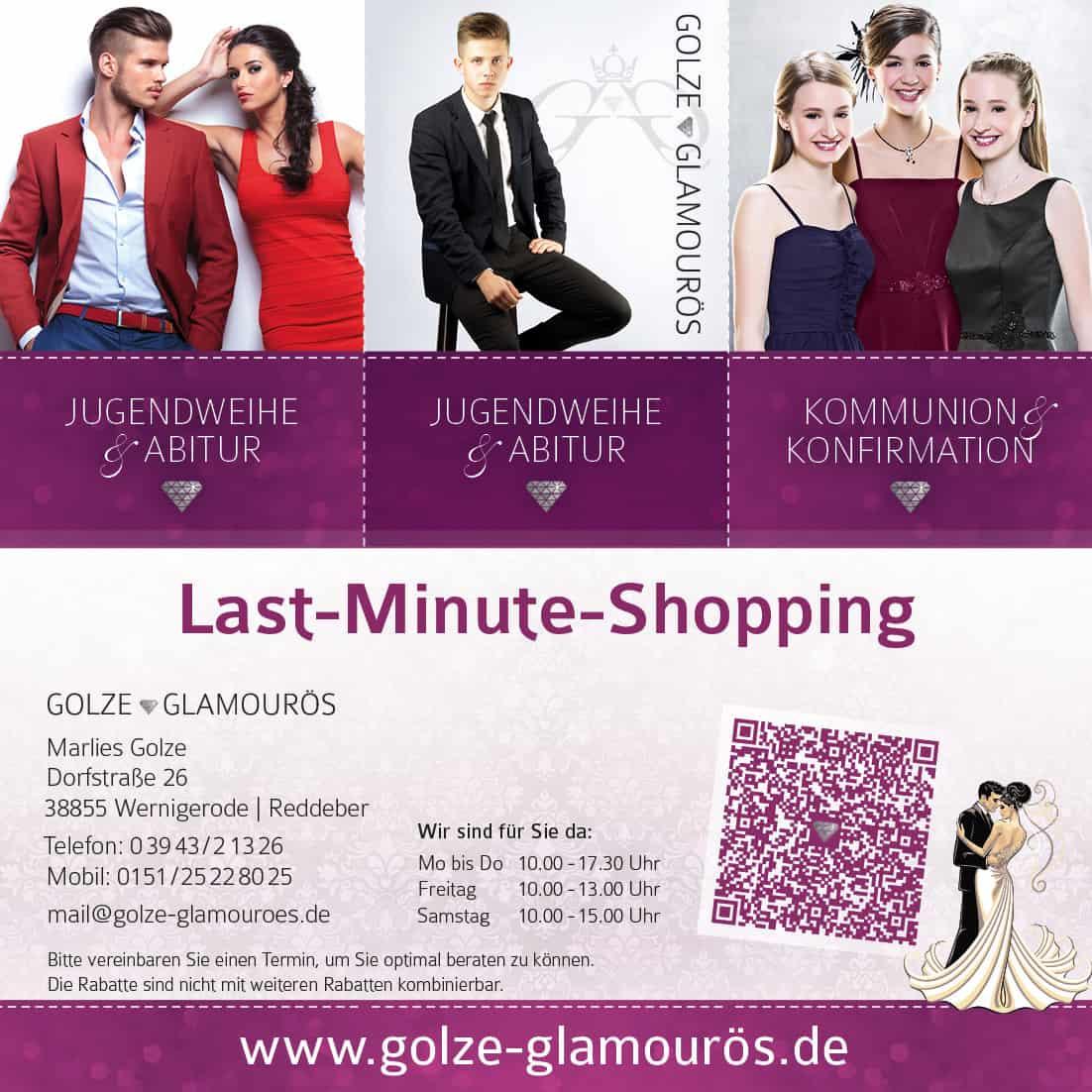 Konfirmation und Jugendweihe - Last-Minute-Shopping