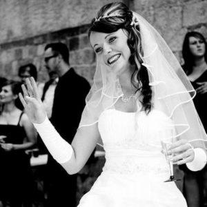 GolzeGlamouroes Brautpaar Schaefer 02 Kundenreaktion - Vivien & Steven Schäfer
