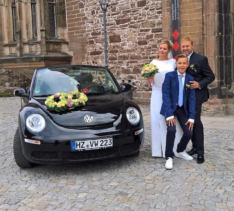 Hochzeitsfoto Famile Rühr   ausgestattet von GolzeGlamourös