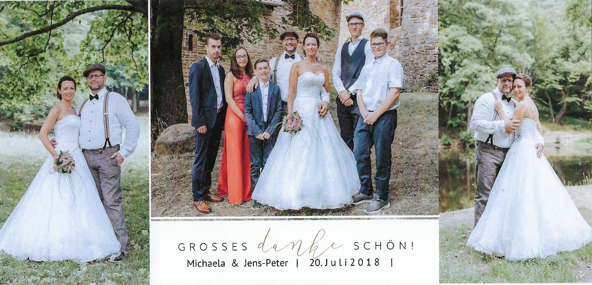 Michaela & Jens-Peter   ausgestattet von GolzeGlamourös