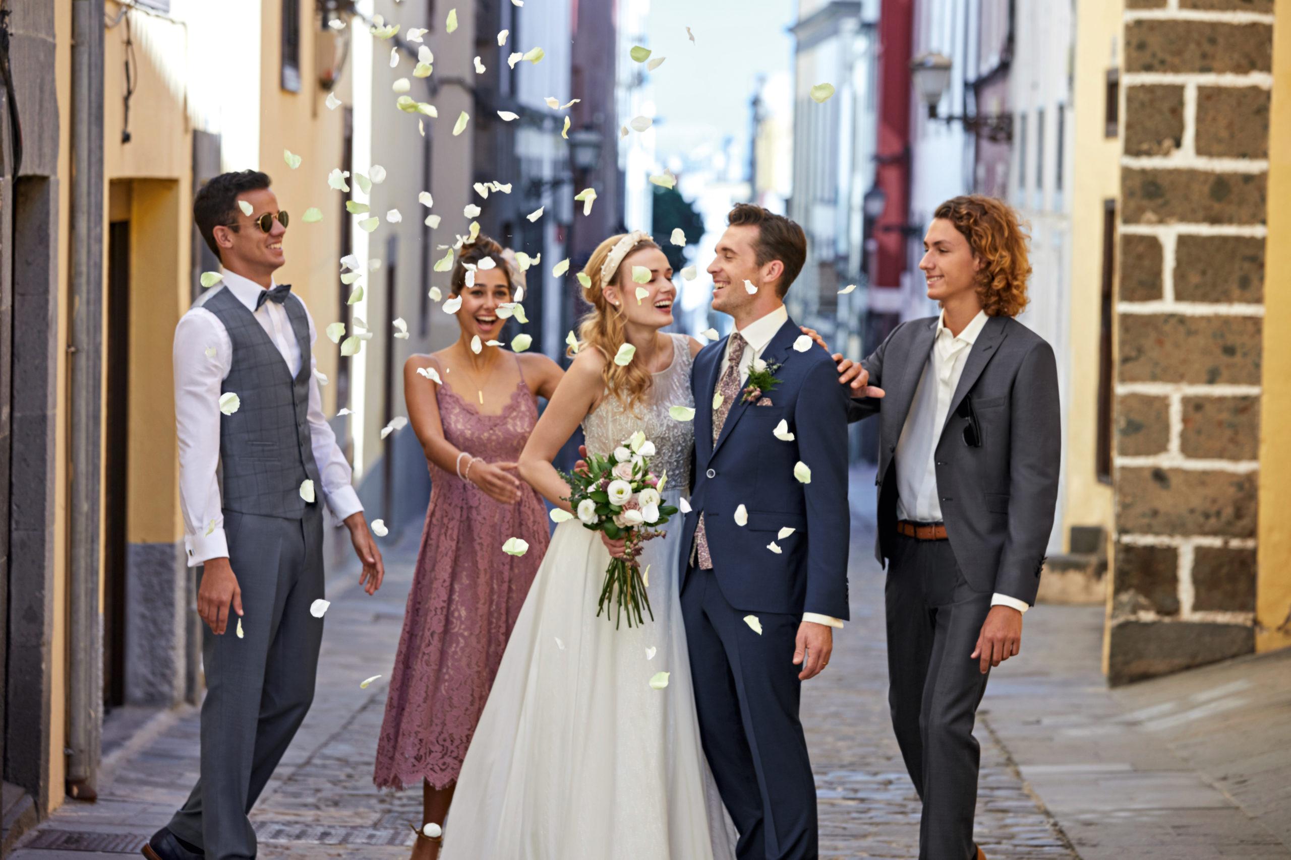 Hochzeitsgesellschaft 2020, Quelle: Wilvorst