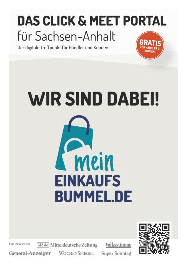 Click and Meet auf meineinkaufsbummel.de vereinbaren.